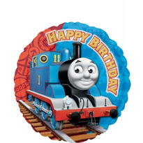 Foil Thomas the Tank Engine Happy Birthday Balloon 18in