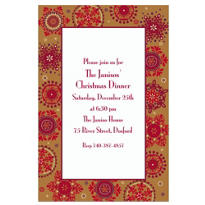 Christmas Treasures Custom Invitation