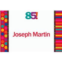 Birthday Dots & Stripes 85 Custom Thank You Note
