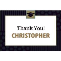 Class Pride Custom Graduation Thank You Notes