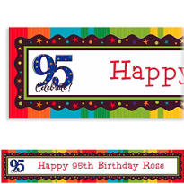 A Year to Celebrate 95 Custom Banner 6ft