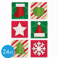 Glitter Pop-Layer Gift Tags 24ct