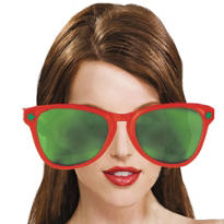 Giant Christmas Sunglasses 11in
