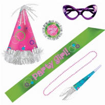 Party Girl Party Kit 6pc