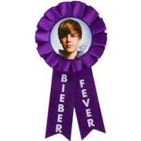 Justin Bieber Award Ribbon