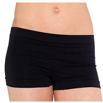 Teen Girls Black Boyshorts
