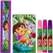 Dora the Explorer Stationery Set 5pc
