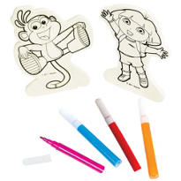 Dora the Explorer Wood Decorating Kit
