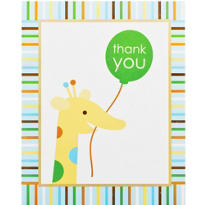Sweet At One Boys 1st Birthday Thank You Notes 8ct