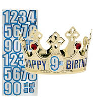 Customized Happy Birthday Crown