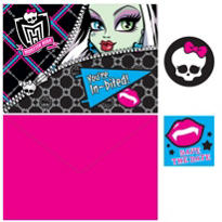 Monster High Invitations 8ct