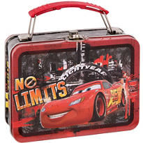 Cars Metal Mini Lunch Box 5 1/2in x 4in