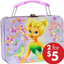 Mini Tinker Bell Tin Box