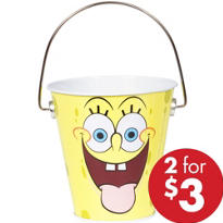 SpongeBob Metal Pail