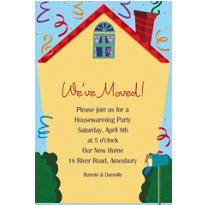 Housewarming Custom Invitation
