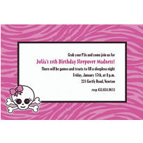 Punk Princess Custom Invitation