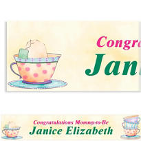Tea Time Custom Banner 6ft