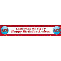 Life is Great 60 Custom Banner 6ft