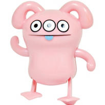 Uglydoll Peaco Pink Windup Toy