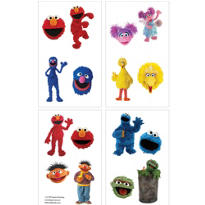 Sesame Street Tattoos 16ct