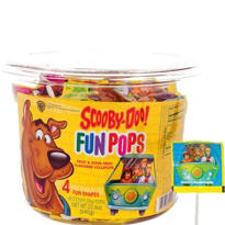 Scooby Doo Lollipop Tub 40ct