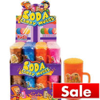 Soda Candy Mugs 12ct