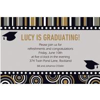 Custom Grad Inspiration Invitations