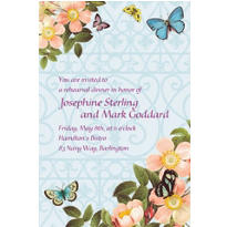 Butterfly Dreams Custom Wedding Invitation