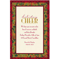 Winter Warmth Custom Invitation