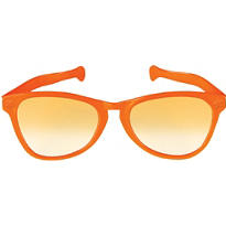 Orange Giant Fun Glasses 11in