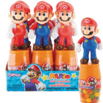 Mario Candy Containers 12ct