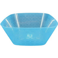 Large Square Blue Bowl