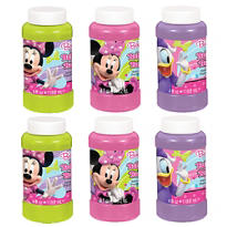 Minnie Mouse Bubbles 4oz 6ct