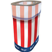 Patriotic Flings® Pop Up Trash Bin