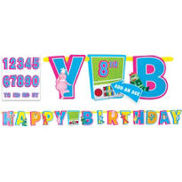Yo Gabba Gabba! Letter Banner 10ft