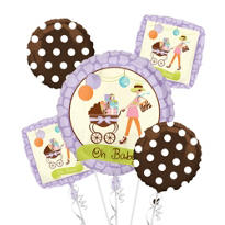Balloon Bouquet 5pc - Modern Mommy