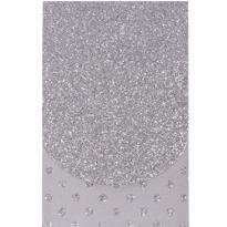 Glitter Silver Purse Notepad