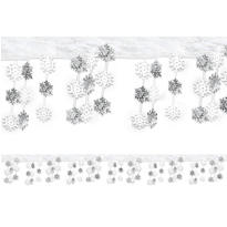 Snowflake Foil Ceiling Decoration 10ft