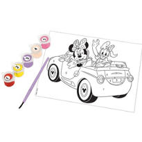 Minnie Mouse Paint By Number