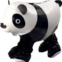Gliding Panda Balloon 21in x 18in