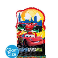 Giant Lightning McQueen Pinata 36in