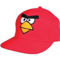 Red Angry Birds Baseball Hat
