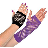 Fierce Fishnet Gloves