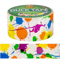 Paint Splatter Duck Tape 10yds