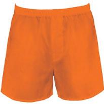 Orange Boxer Shorts