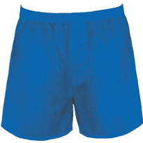 Blue Boxer Shorts