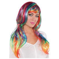 Glam Rainbow Wig