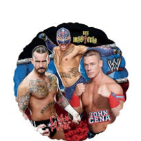 Foil WWE Balloon 18in