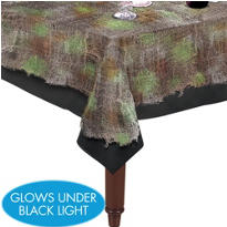 Gray Gauze Table Cover 60in x 84in