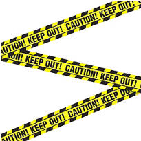 Caution Keep Out Tape 20ft